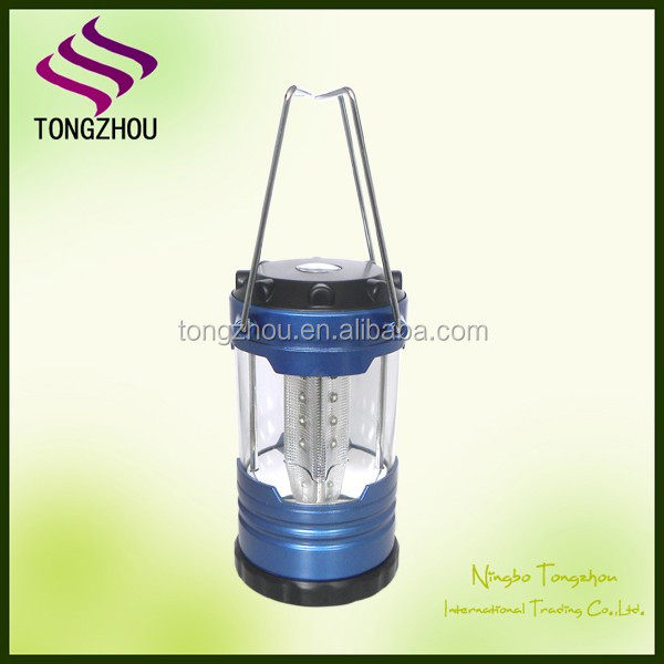 Emergency outdoor 12 led camping light/battery led lantern/ mini LED lamp with Compass