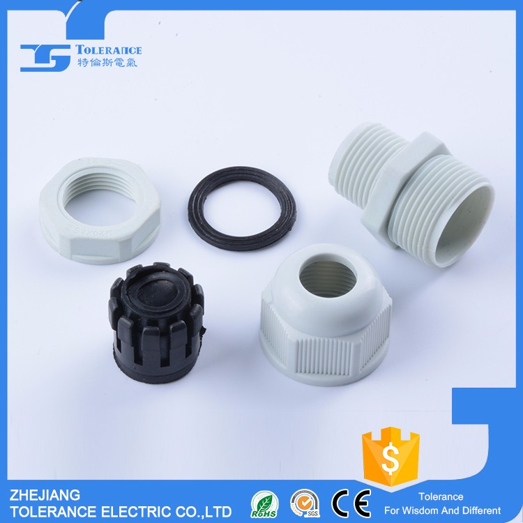 Flexible Strain Professional Factory Price nylon cable gland m16 m20 25 m32 m36 m40 ip68