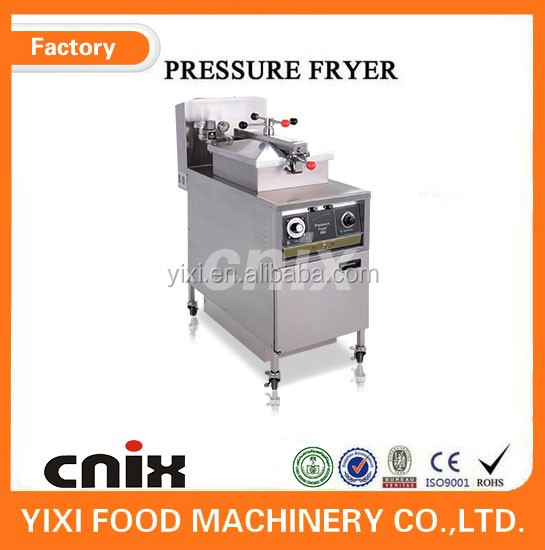 Commercial KFC Gas Chicken Fryer/durable single tank fryer/pressure deep fryers