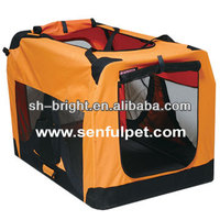 Foldable Dog Cat Pet House-Soft Crate