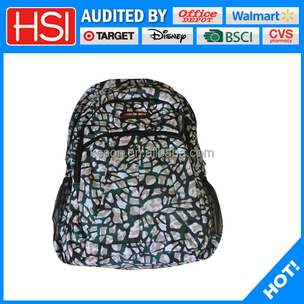 Moderate price delicate comfortable knapsack school girl