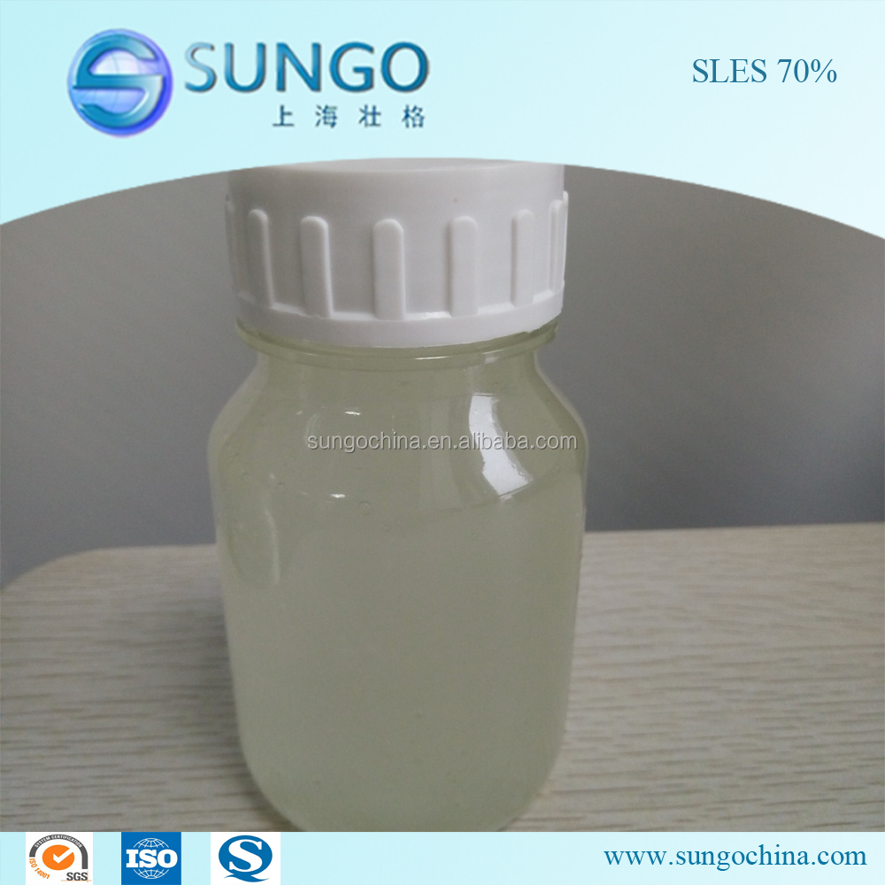 SLES/AES Sodium Lauryl Ether Sulfate 70% Low price Cas no. 68585-34-2