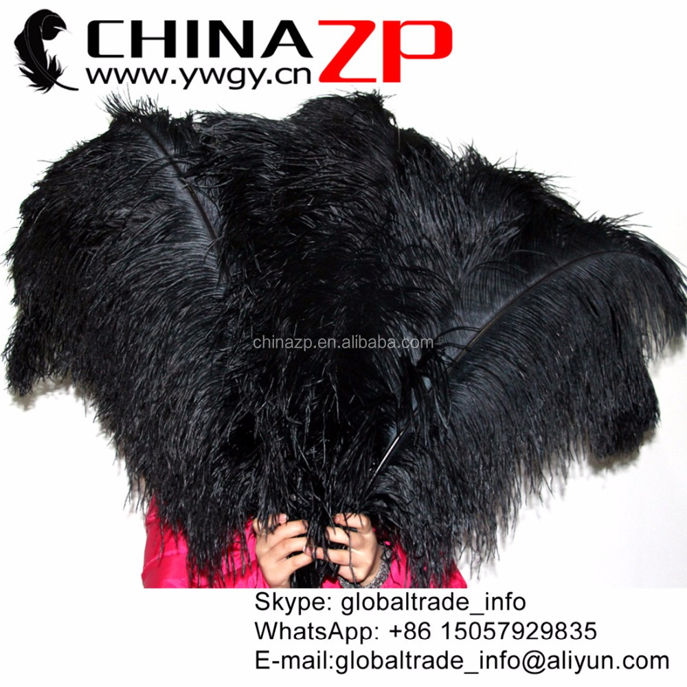 Size 65-70cm Cheap Artificial Large Ostrich Feathers for Party Supplies