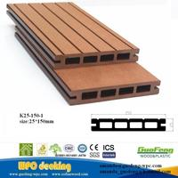 WPC Outside Floor Wood Plastic Composite/Eco-friendly Decorate Decking/Diy Wpc Flooring / Decking