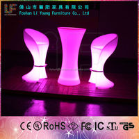 2015 LIGO high quality and low coast price for Multi Color Changing Fashion LED Bar Table made in china