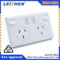 2015 New product 2013 hot sale electrical m saati socket plug