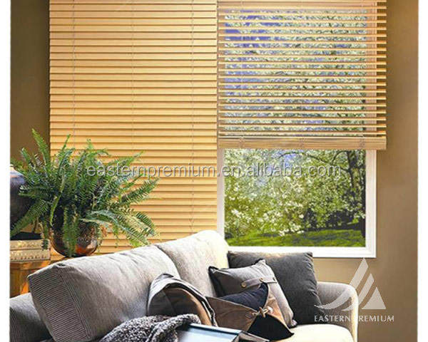 2015 High Quality New Zealand Pine Wooden Venetian Blind