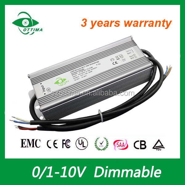 0-10v led driver 60w shenzhen constant voltage waterproof power 12v 5a
