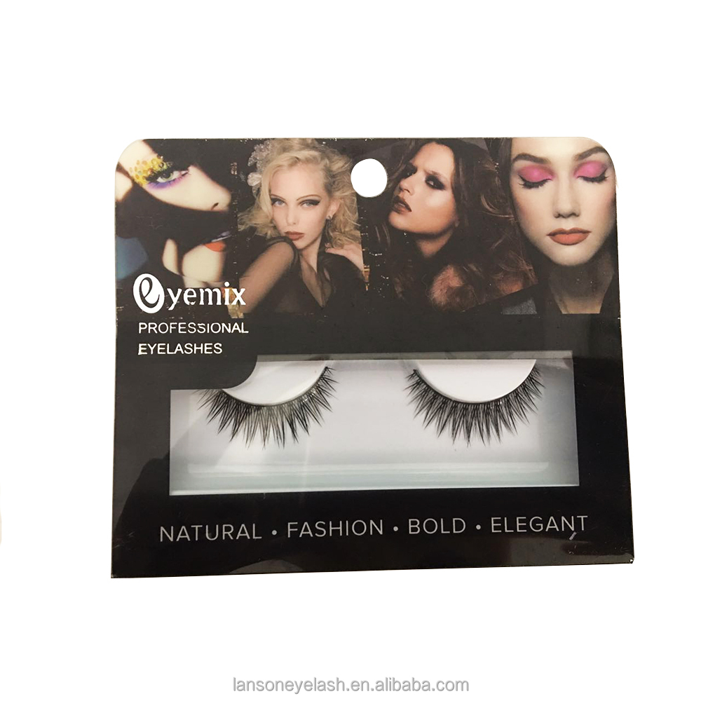 New designs high quality best <strong>selling</strong> private label for professional natural 3D false eyelashes