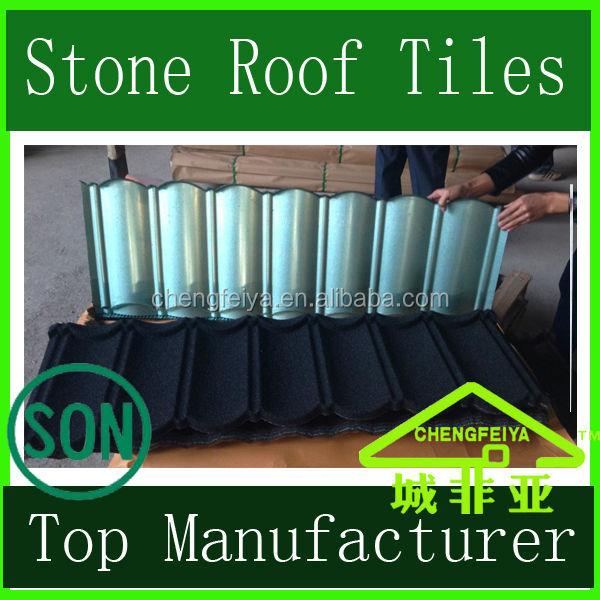 Stone Coated Steel Roof Tile/Lightweight Roofing Material/Constructional Material