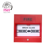 Conventional break glass fire alarm station