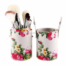 MYBASY Peony Printed Natural Hair Brush Set 12 Pcs Professional Makeup Brushes Best Selling Products
