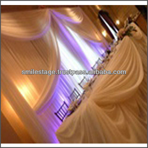Drapery curtains and drapes for hotel