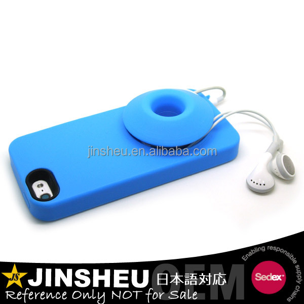 Mobile cellphone accessory silicone speaker cases for phones