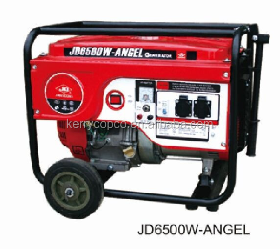 Best Seller!!! 4 Stroke Air Cooled Twin Cylinder 6KW Gasoline generator