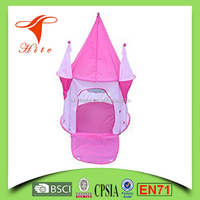 Girls Pink Princess Play Castle Charming Play Tent/ Kids Family Play Tent/Children collapsible Play Tent