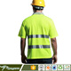 100% Cotton Fabric High Visibility Polo Shirt
