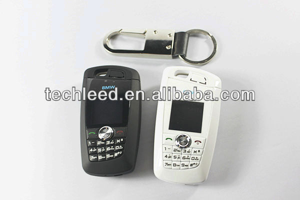 key mini low cost Car mobile phone MTK MT6252A ,1.1' OLED screen 760 model