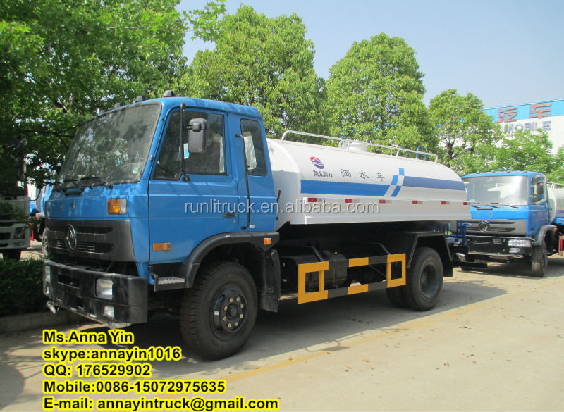 10 tons Dongfeng 4x2 street sprinkler