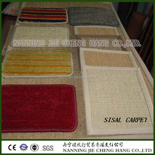 100% Natrual Sisal Carpet for Hotel, Restaurant and Family