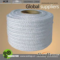 Absorption Expansion Joins Braided Glass Fiber Rope Fiberglass Square braided Rope