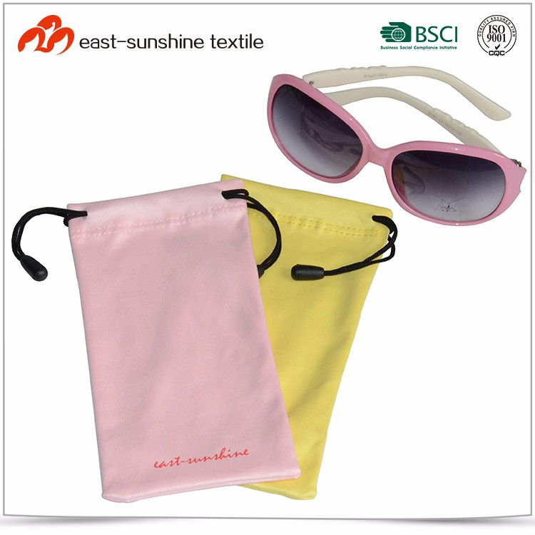 New Design Custom Printed Logo Sunglasses Case Pouch