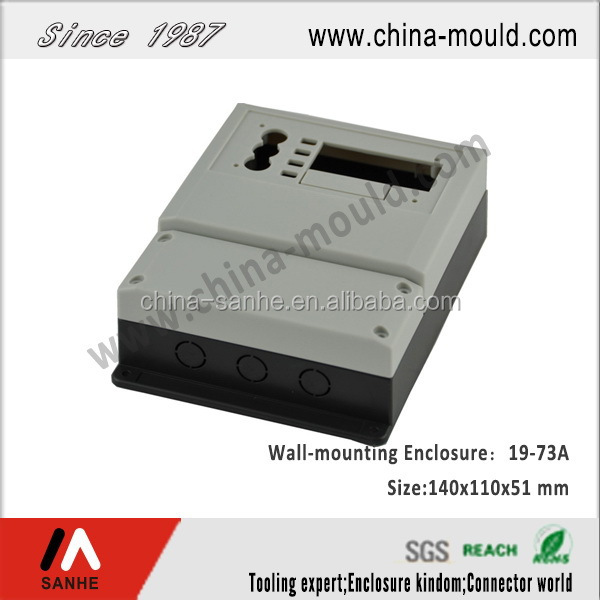 ABS plastic wall-mounting enclosure with window