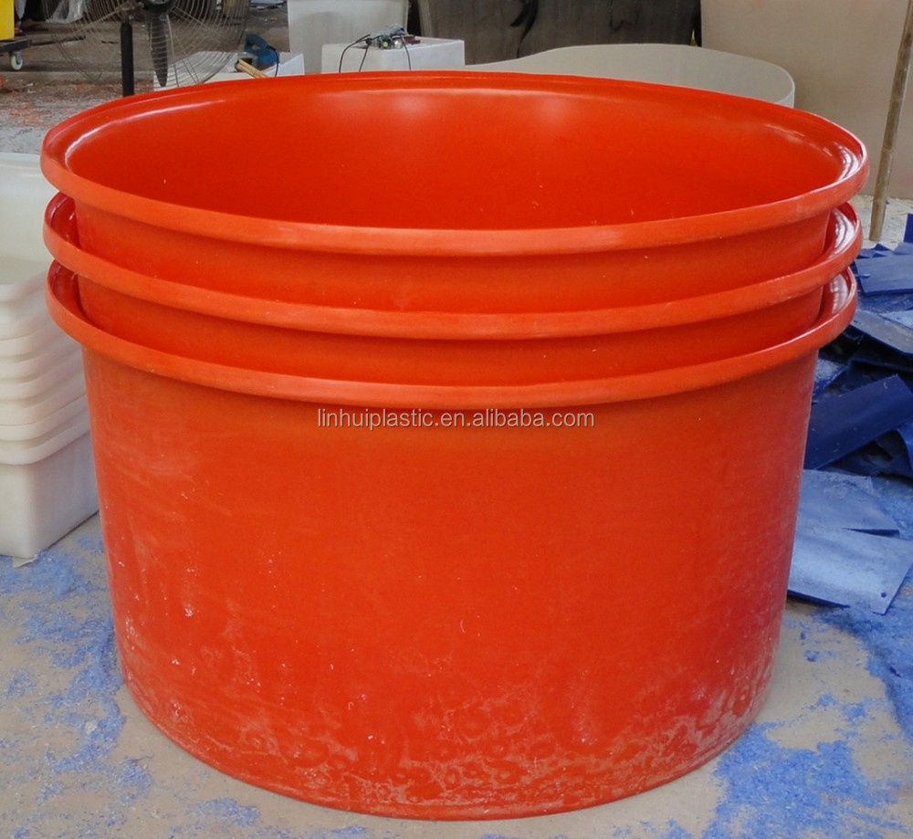 customized rotational molding Plastic cattle water trough 1000liter