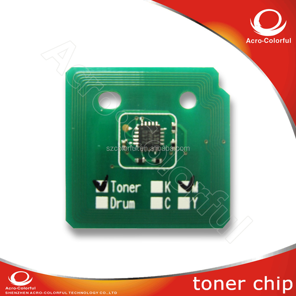 Compatible color laser printer chip for Xerox WC 7525 7530 7535 7545 7556 reset for Xerox WC 7525 toner cartridge chip