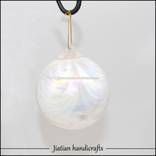 hollow glass balls hanging decoration in garden JTHB-1
