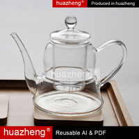 three part tea maker