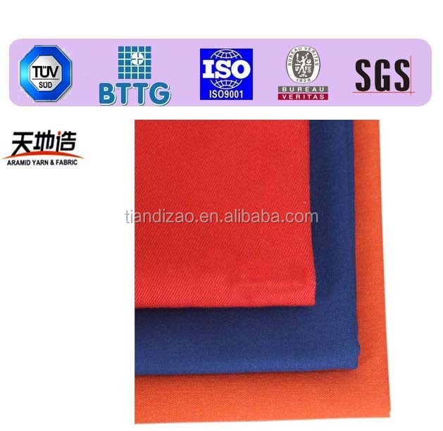 Aramid fire resistant fabric used foe military uniform workwear
