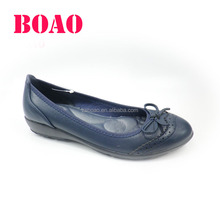 latest design fashion soft rubber outsole wholesale flat ladies designer shoes from china