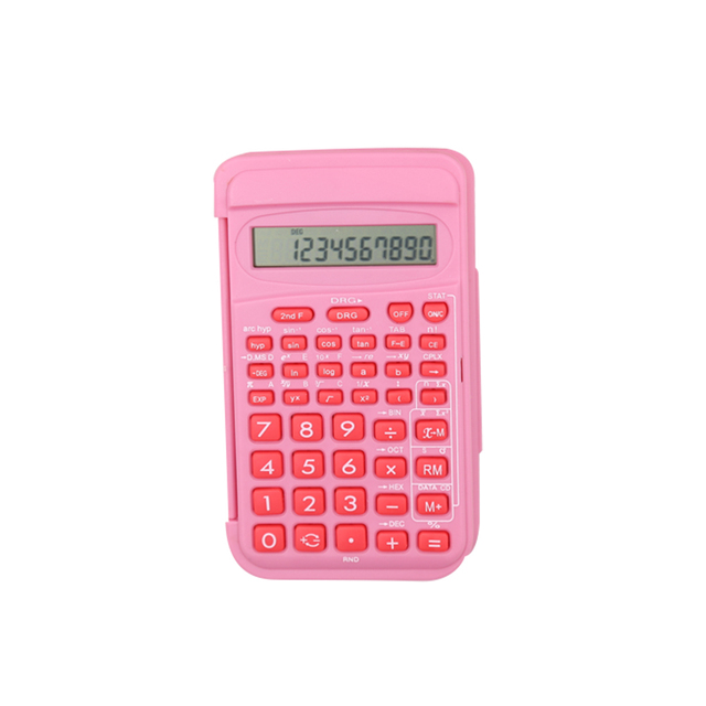 Customized Colorful Students Scientific Calculator with Cover