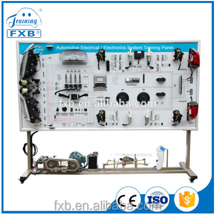 automotive vocational educational driving school training lab equipment for vehicle electric equipment system