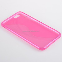 shenzhen S line custom tpu case cover for IPHONE 6 PLUS or oem service