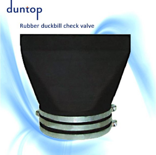 hot sale rubber duckbill check valve of duntop with low price