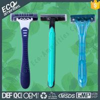 Twin Blade Disposable Shaving Razor One Time Use