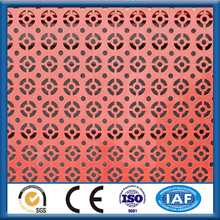 decoration Stainless Steel Perforated sheet/net/plate/punched metal screen wire mesh