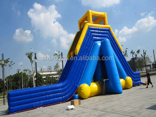 giant inflatable water slide/ big water slide for sale highest quality