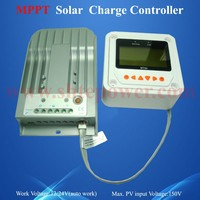 Best quality Solar Charge Regulator 12v 24v Solar panel Controller 10A with MT50