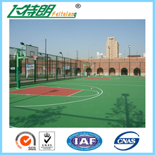 Excellent Quality Sandwich Silicon PU Sports Flooring