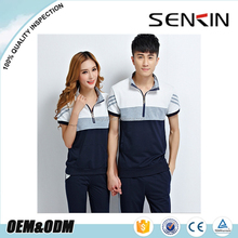 color combination couple polo t shirts custom design couple family polo shirt wholesale