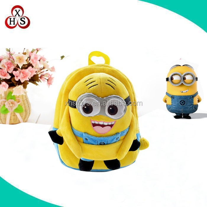 Plush Backpack For Children,Wholesale Plush Bag School Bag Backpack, Kids Plush Backpack