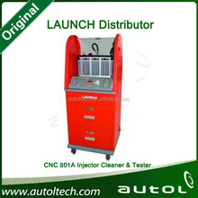 High efficiency LAUNCH CNC801A fuel injector cleaner and tester price 8 cylinders