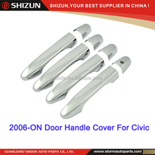 2006-ON ABS chrome exterior accessory for tuning car door handle cover