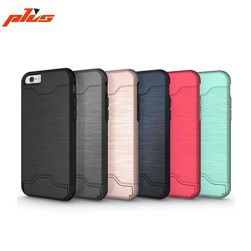 PVC/PC Phone Case/Holder, Crashproof Mobile Phone Shell Shenzhen with Card Holder