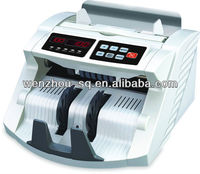 Competitive Price Fake Money Detector Counting Machine with UV+MG1+MG2+IR+SIZE detection Cash Counter