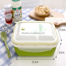 food grade disposable bento mens lunch boxes clear plastic lunch boxes