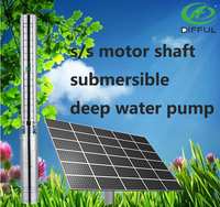 solar water pump solar power home system deep well water pump